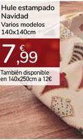 Oferta de Hule estampado Navidad Varios modelos por 7,99€