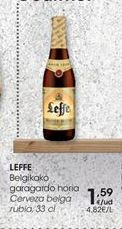 Oferta de Cerveza belga rubia, 33 cl LEFFE por 1,59€