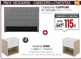 Oferta de Mesita de noche por 115€