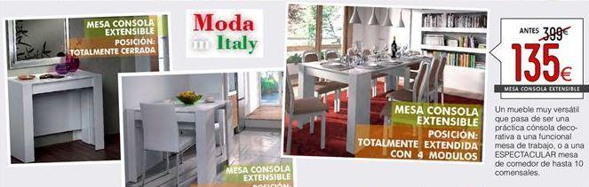 Oferta de Mesa extensible por 135€