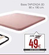 Oferta de Base tapizada de canapé por 49€