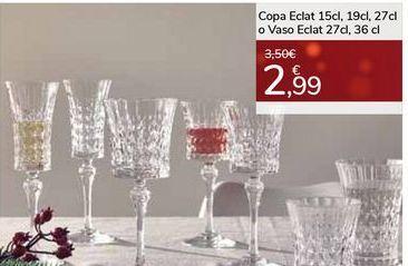 Oferta de Copa Eclat o Vaso Eclat por 2,99€