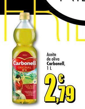 Oferta de Aceite de oliva Carbonell  por 2,79€