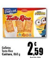 Oferta de Galletas Tosta Rica Cuétara  por 2,59€