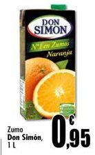 Oferta de Zumo Don Simón por 0,95€