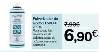 Oferta de Pulverizador de alcohol EWENT por 6,9€