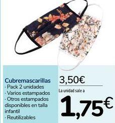 Oferta de Cubremascarillas por 3,5€