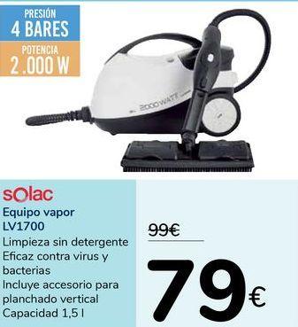 Oferta de Equipo vapor LV1700 SOLAC por 79€
