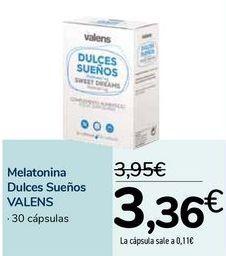 Oferta de Melatonina Dulces Sueños VALENS por 3,36€