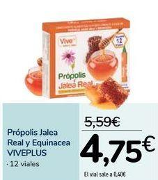 Oferta de Própolis jalea real y esquinacea VIVEPLUS  por 4,75€