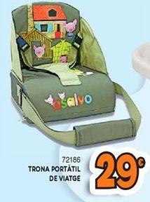 Oferta de Trona portátil por 29€