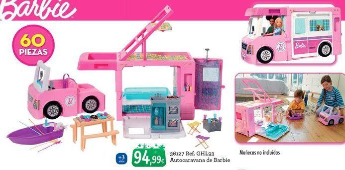 Oferta de Caravana de juguete Barbie por 94,99€