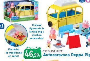 Oferta de Caravana de juguete Peppa pig por 46,99€