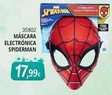 Oferta de Máscara Spiderman por 17,99€