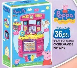 Oferta de Cocina de juguete Peppa pig por 36,95€
