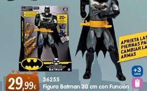 Oferta de Muñecos Batman por 29,99€