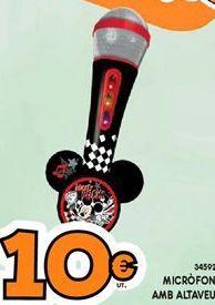 Oferta de Micrófono por 10€