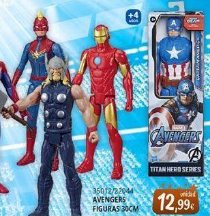 Oferta de Muñecos Marvel por 12,99€