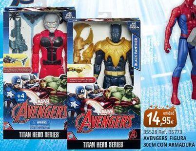 Oferta de Muñecos Marvel por 14,95€