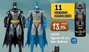 Oferta de Muñecos Batman por 13,99€