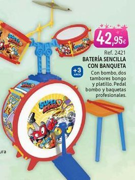 Oferta de Batería de juguete por 42,95€