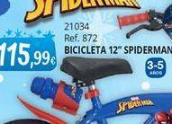 Oferta de Bicicletas Spiderman por 115,99€