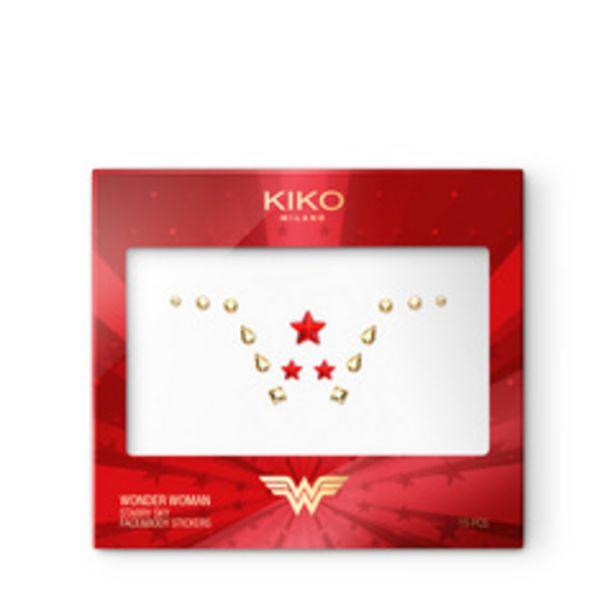Oferta de Wonder woman starry sky face&body stickers por 1,49€