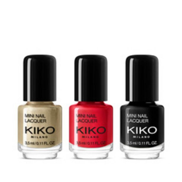 Oferta de 20/21 winter sales kit mini nail lacquers por 3,49€