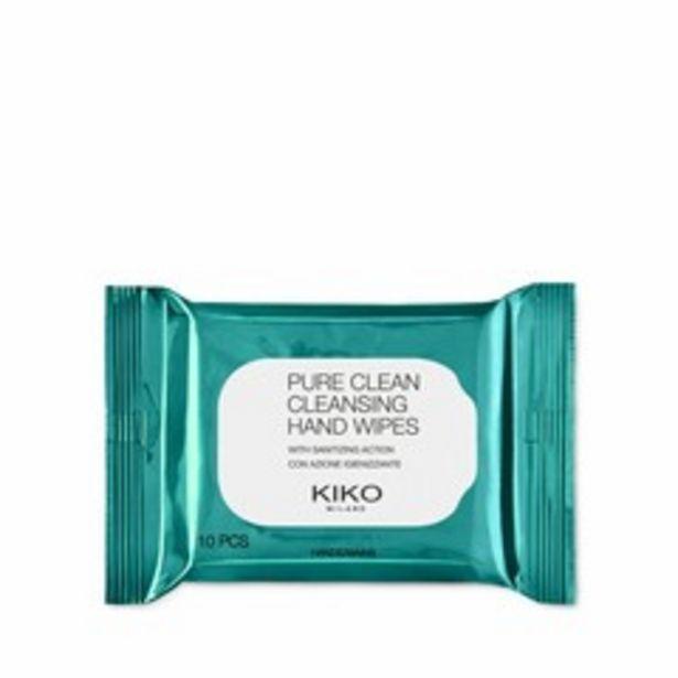 Oferta de Pure clean cleansing hand wipes por 2,09€