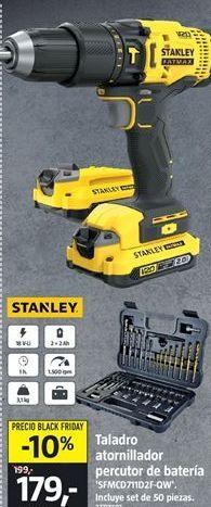Oferta de Taladro atornillador Stanley por 179€