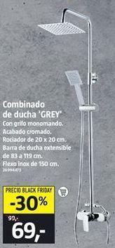 Oferta de Conjunto de ducha por 69€