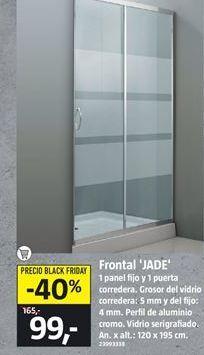 Oferta de Panel de ducha por 99€