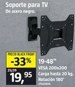 Oferta de Soporte para tv por 19,95€