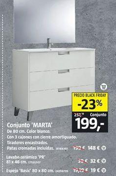 Oferta de Muebles de baño por 199€