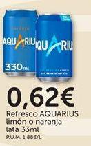 Oferta de Refrescos Aquarius por 0,62€