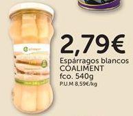 Oferta de Espárragos blancos COALIMENT por 2,79€