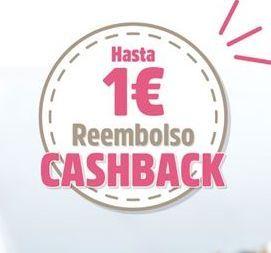 Oferta de Reembolso cashback por