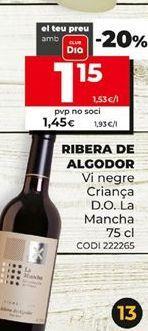 Oferta de Vino tinto por 1,15€