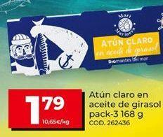 Oferta de Atún claro por 1,79€