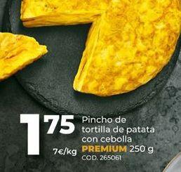 Oferta de Tortilla de patatas por 1,75€