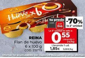 Oferta de Flan de huevo reina por 1,85€