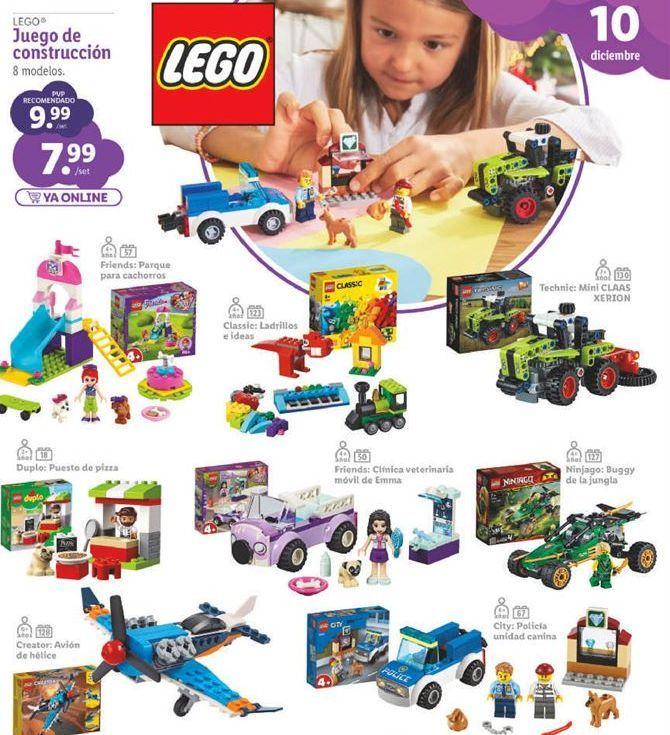 Oferta de Juguetes LEGO por 7,99€