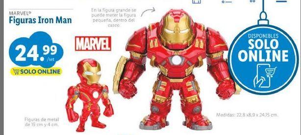 Oferta de Figuras coleccionables Marvel por 24,99€