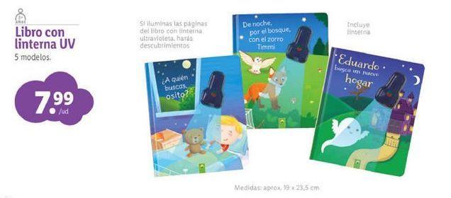 Oferta de Libros infantiles por 7,99€