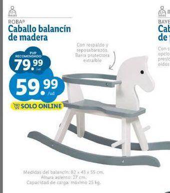 Oferta de Balancín por 59,99€