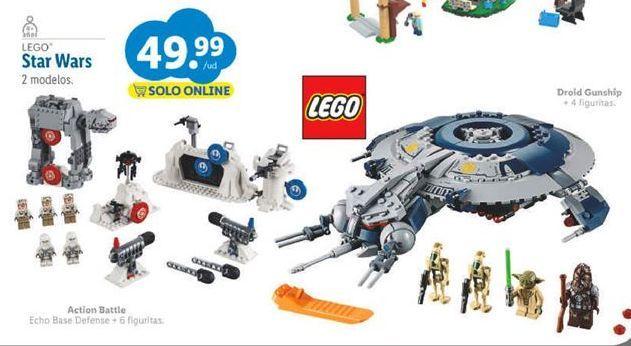 Oferta de Juguetes LEGO por 49,99€