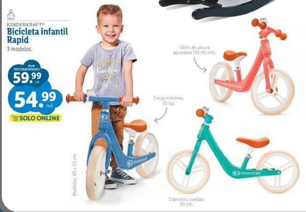 Oferta de Bicicleta infantil por 54,99€