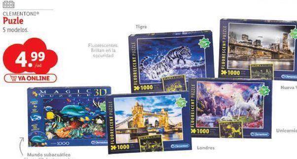 Oferta de Puzzles por 4,99€