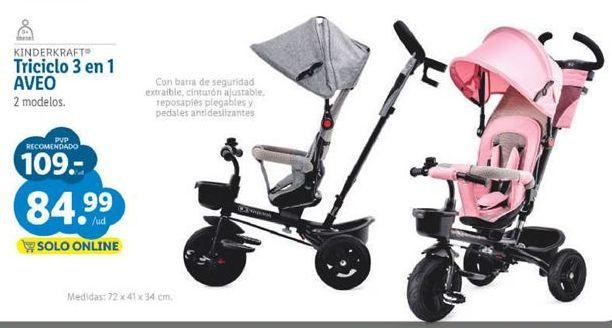 Oferta de Triciclo por 84,99€