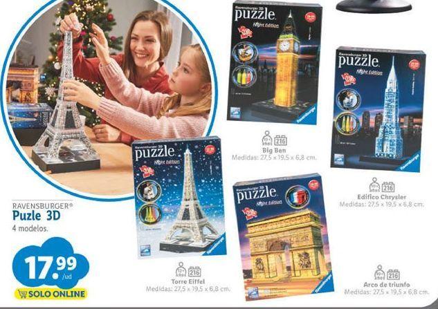 Oferta de Puzzle 3d por 17,99€
